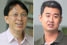 Chong Hock Yen (left) and Li Hyon (right) were charged yesterday.