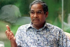 Peter Velappan was a well-respected football administrator.
