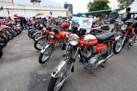 Classic rides meet custom bikes at JB retro event