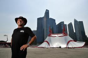 Confessions of a circus tentmaker