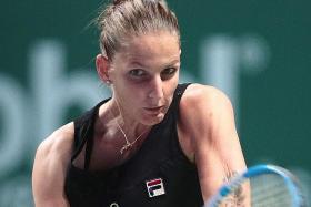 Pliskova, Svitolina win on a night of upsets at WTA Finals