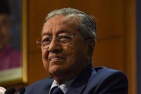 New ministers barely make the grade, says Malaysian PM Mahathir