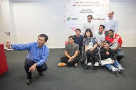 Haw Par Corp gives para-athletes a boost