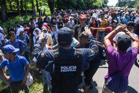 Trump calls US-bound migrant caravan a national emergency