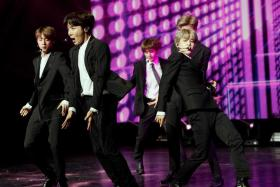 BTS is arguably the world's biggest K-pop group.
