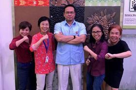 Tan Tock Seng Hospital employees walk towards better health