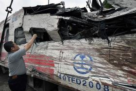 Taiwan tragedy: Train driver says he turned off speed-control system