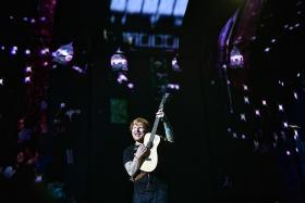 Ticket verification measures in place at Ed Sheeran's concert
