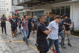 66 arrested in more than 10 police raids islandwide