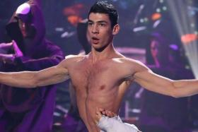 Mr Emin Abdullaev, a contortionist with The Great Moscow Circus