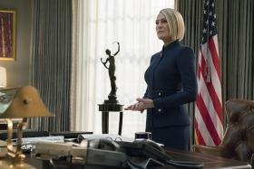 Robin Wright says leading, directing House Of Cards was exhilarating