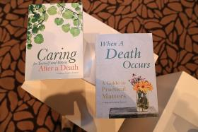 Books launched to help those grieving
