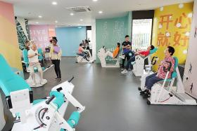 Gym for seniors opens in Bishan CC
