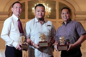 Transport workers honoured for kind acts