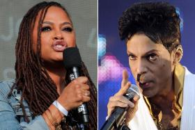 Oscar-nominated film-maker Ava DuVernay (left) is honoured to be part of the documentary series on pop icon Prince.