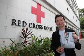 Seasoned fund-raiser donates book sale proceeds to Singapore Red Cross