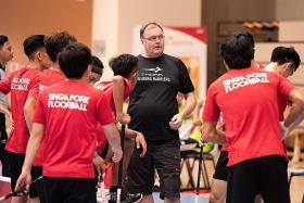 Singapore floorball coach upbeat ahead of World Championship