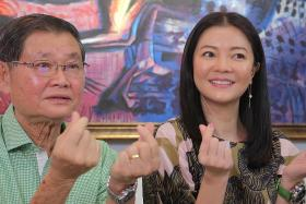 Michelle Chong and her dad raise awareness for diabetes, heart disease