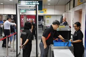 Trial of enhanced security checks for MRT kicks off