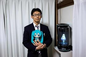 Japanese man spends $24,000 to marry hologram