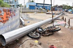 Cyclone death toll in southeast India rises