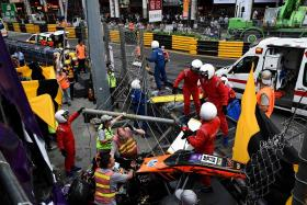 FIA vows to probe Macau aerial crash