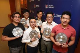 Six praised for nabbing four sex predators at MRT stations