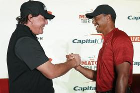 Mickelson eyes bragging rights over Woods