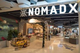 Enter a 'phygital' retail wonderland at NomadX