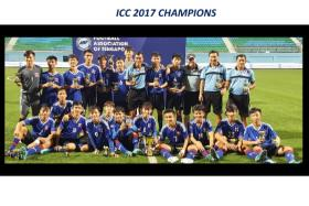 The PVF team from Vietnam who won last year's U-15 International Challenge Cup competition organised by the FAS are back to defend their title this year.
