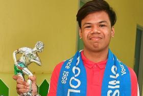 TNP Dollah Kassim Award winner Adam plans extra training for next year