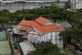 Maid  kicked out of Singapore Cricket Club restaurant