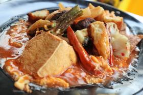 Chilli crab sauce yong tau foo spices up the scene