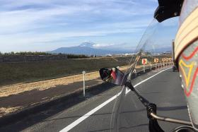 Two-wheel adventure: Tips on riding in Japan in cold weather