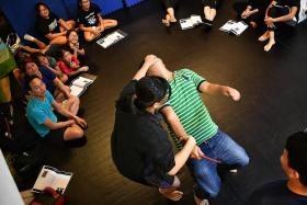 More women taking up self-defence classes