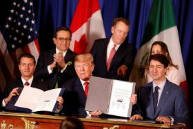 Trump to give formal notice to Congress in near future to end Nafta