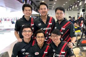 Singapore men's bowlers in World C'ship semis