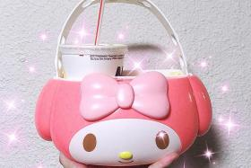 I'm selling my My Melody holder on Carousell for $1,001