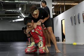Bully-proofing kids through martial arts