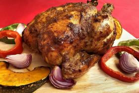 Spice up your Christmas feast with tandoori-style capon