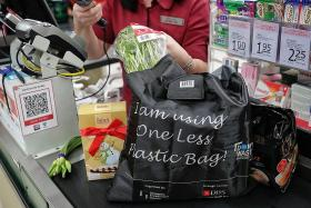 Major supermarket chains launch campaign to reduce plastic bag usage
