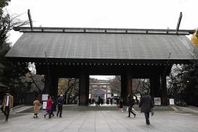 Chinese man arrested over fire at Japan's Yasukuni war shrine: Report