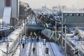 Several dead, many injured in Ankara train crash