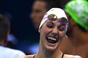 MIssy Franklin won the 100m and 200m back at the 2012 Olympics.