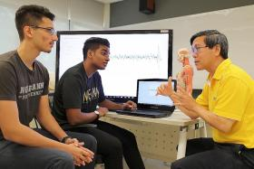 NP students create tech system to help epileptics