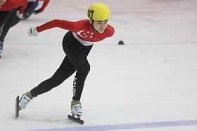 Trevor, 16, puts studies on ice to pursue Winter Olympics dream