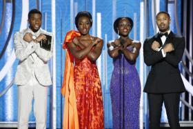 Golden Globes TV audience falls slightly