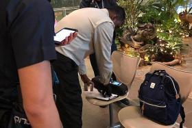 Baby's bag causes false alarm at airport