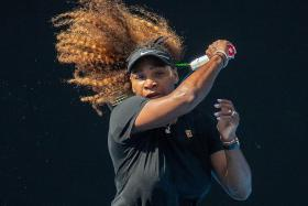 Tough grind for Serena ahead of 24th Slam title