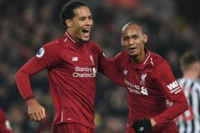 Virgil van Dijk is likely to partner Fabinho in central defence against Brighton.